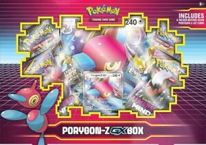 Pokemon TCG: Porygon-Z GX Box - Rare Evolutions Booster Brand New And Sealed