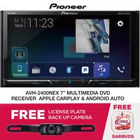 "Pioneer AVH-2400NEX 7"" DVD CarPlay Receiver & License Plate Camera"