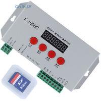RGB Pixel Controller K1000C DC5-24V Control 2048pcs TM1804/LPD6803/DMX512/WS2812