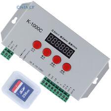 K1000C RGB Pixel Controller Control 2048pcs DC5-24V TM1804/LPD6803/DMX512/WS2812