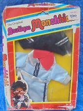 Mattel 1980 The Original Boutique Monchhichi Cool Cowboy Outfit MIP Vintage NRFP