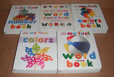 Lot of 5 My 1st Board Books by Dorling Kindersley Publishing Staff NEW