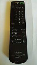 GENUINE ORIGINAL SONY RMT-V166A VTR TV VHS REMOTE CONTROL KL-37W1 KP46S4K VIDEO