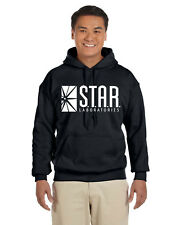 Star Labs Pullover Hoodie Sweat Shirt The Flash STAR LABORATORIES Superman