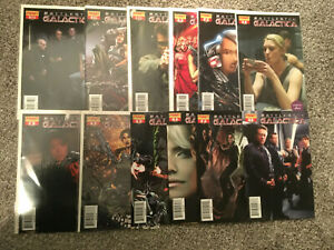 BATTLESTAR GALACTICA COMIC LOT 23 ISSUES DYNAMITE ENTERTAINMENT