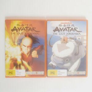 Avatar the Last Air Bender Book 1 Water Volume 4 & 5 TV Series DVD Region 4 AUS