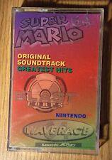 Nintendo 64 Super Mario Original Soundtrack Greatest Hits Cassette Video Music