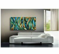 PAINTING Abstract Modern original Contemporary ART DECOR Mix Lang cert. unique