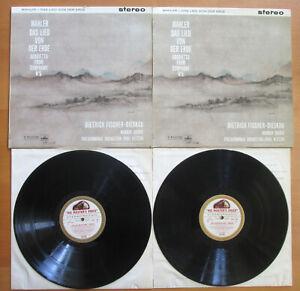 ASD 351-2 ED1 Mahler Das Lied Von Der Erde Kletzki NEAR MINT 2xLP HMV W/G