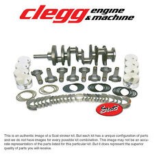 FORD 460-545 SCAT STROKER KIT Premium Forged(Flat)Pist., H-Beam Rods