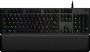 Logitech G513 Lightsync,Mechanical Gaming Keyboard, GX Blue Clicky Switches