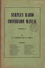 Surplus Radio Conversion Manual * CDROM * PDF