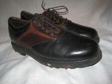 Callaway Black Tour Saddle Golf Shoes Spikes men's 12