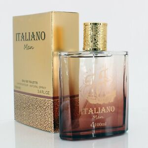 Italiano Man Mens Perfume Saffron 100ml Eau De Toilette Gents Fragrance
