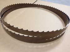 "Wood Mizer Bandsaw Blades 11' "" x 1-1/4""  x 042 x 7/8 10° 132"" Sawmill Blades"