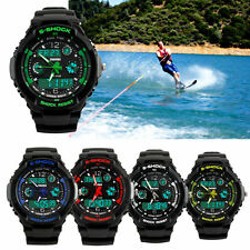 Men's Sport Silicone/Rubber Band Unbranded Wristwatches