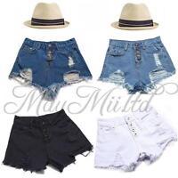Hot Sales Fashion Womens Vintage Denim High Waist Jean Shorts Hot Pants O