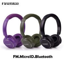 Auriculares Cascos Bluetooth Micrófono FM/Micro SD On-Ear Para Móvil/Portátil