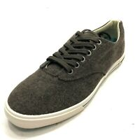 SEAVEES x Grayers Men's 9 Wool Sneakers Plimsoll Brown NEW