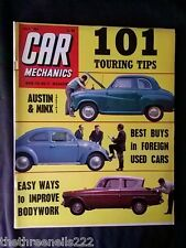 CAR MECHANICS - 101 TOURING TIPS - JULY 1964