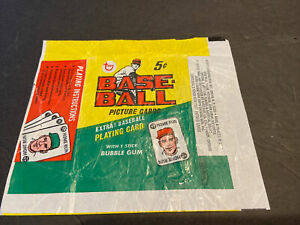 1968 TOPPS BASEBALL WAX 5 CENT PACK WRAPPER~FREE SHIPPING