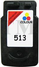 CL513 Colour Remanufactured Ink Cartridge For Canon Pixma MP495 Printers Non-Oem