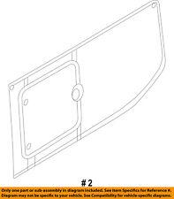 Ford Oem 15-18 Transit-350 Side Panel-Rear Glass Right Ck4Z6129700B