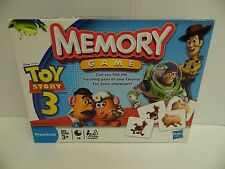Disney Pixar Toy Story 3 Memory Game 2009- Complete