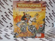 WARHAMMER SHADOW OF THE HORNED RAT - PC - BIG BOX CARTONATO COMPLETO COME NUOVO