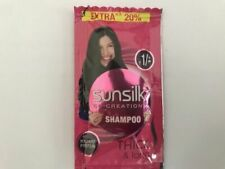 7x Sunsilk Shampoo Thick & Long Travel Holiday Pouch Pack Sachet 6ml