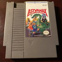 Astyanax Nintendo NES Authentic Cartridge Only Cleaned Tested Works Ships Fast