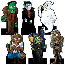 Decoraciones de Fiesta Halloween Monstruo De Dibujos Animados niños de Cartón recortes Props