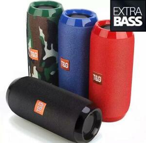 ⚡️Bluetooth Speaker Wireless Waterproof Outdoor Stereo Bass USB/TF/FM Radio LOUD