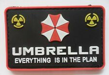 NEW  Resident Evil Umberlla LOGO PVC 3D Rubber   Patch A   197