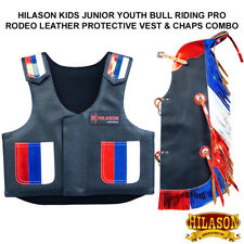 Equestrian Horse Riding Vest Safety Protective Us Flag Kids Junior Youth U-882Y