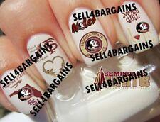 Florida State University Seminoles Logos》10 Different Designs》Nail Art Decals