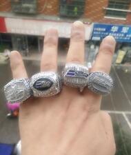 4PCs 2005 2013 2013 2014 Seattle Seahawks World Championship Ring Fans Gift !!