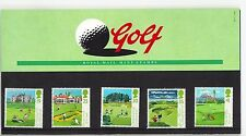 1994 GB QEII ROYAL MAIL COMMEMORATIVE STAMP PRESENTATION PACK NO 249 GOLF