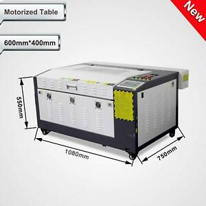 80W Co2 Laser Engraving and Cutting Machine CorelLASER Motorized Table 16''x24'