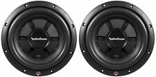 "(2) Rockford Fosgate R2SD4-10 10"" 800W Peak 400W RMS Shallow Car Subwoofers Subs"