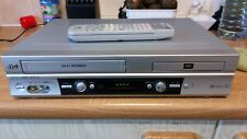 JVC HR XV2EK SILVER COMBI VIDEO PLAYER RECORDER component and scart with remote