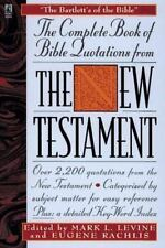 The Complete Book of Bible Quotes from the New Testament (1996, Paperback)