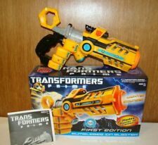 Transformers Prime Bumblebee Ion Blaster First Edition 2011 Lights Sounds W/ Box