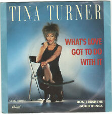 """Tina Turner - What's Love Got to Do with it (single 7"""")"""