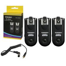 3 x Yongnuo RF-603 II N1 2.4GHz Wireless Remote Flash Trigger Kit for Nikon UK