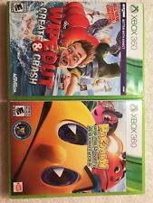 Wipeout Create & Crash and Pac-Man and the Ghostly Adventures( Xbox 360)