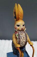 "Jim Shore ""You'Re A Good Egg"" Sculpture/Figurine Bunny Series Collectible"