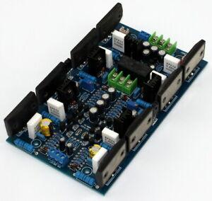 300W+300W sanken 2SA1494 / 2SC3858 high power dual channel amplifier board