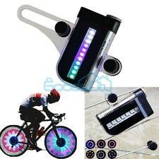 22 LED Motorcycle Bicycle Bike Wheel Signal Tire Spoke Light 30 Changes+ Battery