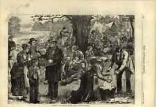 1875 Hop Picking domenica mattina kipsie Tally Festa